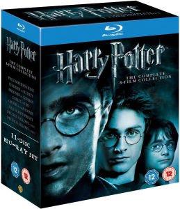Harry Potter Complete Blu Ray Box Set £22.99 @ Zavvi