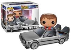 Pop! Vinyl Back to the future delorean + Marty McFly £27.99 @ Amazon