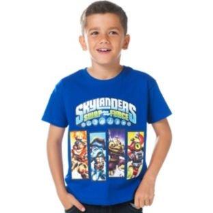 Skylanders Boys' Blue SwapForce T-Shirt In Various Sizes £1.99! @ Argos