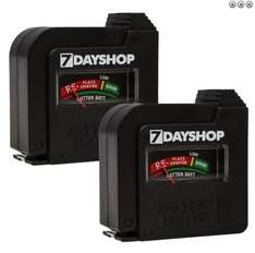 7dayshop SALE Battery Tester - BUY 1 GET 1 FREE! - £3.99 With Free Delivery