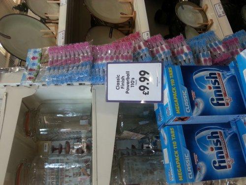 Finish Dishwasher Tablets 110 £9.99 @ The Range