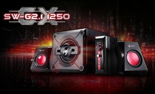 Genis GX Gaming SW-G2.1 1250 Speaker System £36.90 @ Pixmania