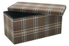 Patterned Fabric Large Ottoman Storage Box - Half Price from 34.99 to 17.49 @ Argos