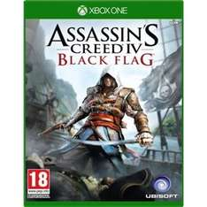 Assassin's Creed IV Black Flag (Xbox One) £20 50% off and Assassin's Creed® Liberation HD (360) - £3.99 75% off @ Xbox.com