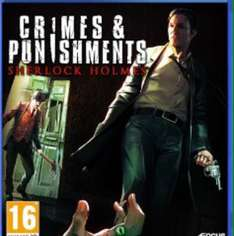 Sherlock Holmes : Crimes And Punishments £19.79 Ps Plus Or £21.99 Everyone Else PS4 on Psn