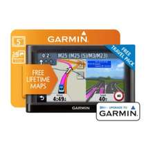 Garmin Nuvi 52LM 5 Inch Sat Nav Lifetime Map W/EU & Kit  £79.99 @ Argos