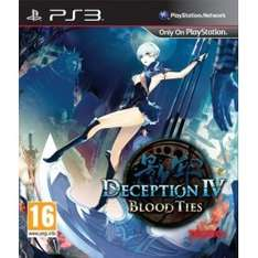 Deception IV: Blood Ties PS3 £10 Delivered @ Game + possible Quidco