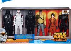 Star Wars Rebels Heroes and Villains 12'' Action Figure Set £39.99 + £4.95 p&p at The Disney Store