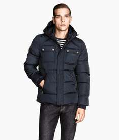 H&M Padded jacket £20 Reduced from £39.99 a choice of three colours online & instore