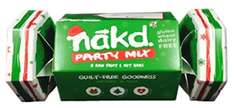Nakd Bar Party Mix Christmas Cracker (8 bars) Reduced from £3.50 to £1.75 @ Tesco instore