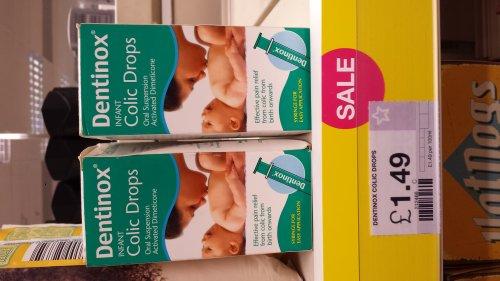 Dentinox Infant Colic Drops 100ml Oral Suspension £1.49 in Superdrug.