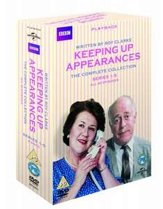 Keeping Up Appearances Complete Collection  [DVD] £9.49 @ Amazon (Lightning Deal)   (free delivery £10 spend/prime)