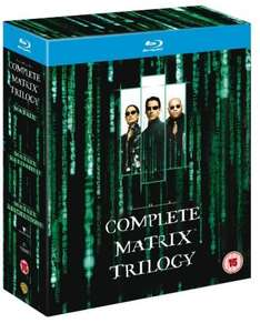 The Matrix Trilogy - Blu-Ray boxset - £9.59 delivered @ Amazon! (£8.10 with free delivery when you spend £10.00/prime)
