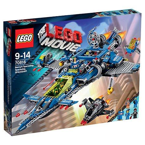 The LEGO Movie Benny's Spaceship £40 @ Debenhams instore
