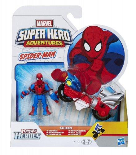 Marvel Super Hero Spider Man Racer Vehicle £2.82 @ Amazon (add-on item)