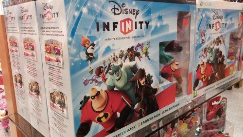 Disney infinity at the disney store. £17.99
