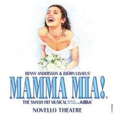 Mamma Mia ticket plus two course meal package £29.00 (+ £2.50 postage) @ Studentbeans