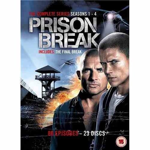 Complete Prison Break (DVD) just £15 @ FoxDirect via Play.com