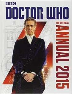 Doctor who annual 2015 99p at amazon ( free prime delivery or free over £10)