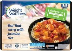 Weight Watchers Red Thai Chicken (16% Breast) Curry & Jasmine Rice (400g) ONLY £1.50 @ Asda