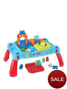 Mega Bloks Build N Learn Table from very £20