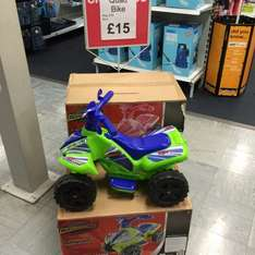 Electric Quad Halfords NOW £15 was £70 @ Halfords instore