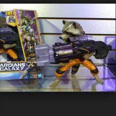 Guardian of the Galaxy's Big Blastin' Rocket Raccoon Figure! £9.99 rrp £39.99 at Home Bargains