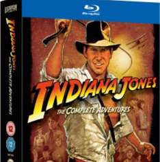 Indiana Jones the complete collection Blu Ray £21.60 with code @ Zavvi
