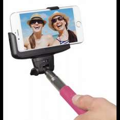 Bluetooth Selfie Stick (Pink) at Sainsburys Mobile for £15