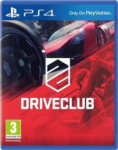 Driveclub PS4 £20.00 ONLINE AND IN STORE CEX