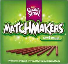 Quality Street Matchmakers (Mint) (130g) ONLY £1.00 @ Budgens