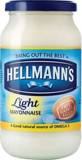 Hellamn's light mayonnaise - 400g for £1.19 @ Lidl (From 2nd Jan 2015)