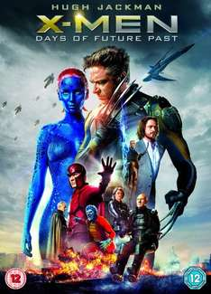 Xmen Days of future past dvd new £6.99 @ Amazon (free delivery £10 spend/prime)
