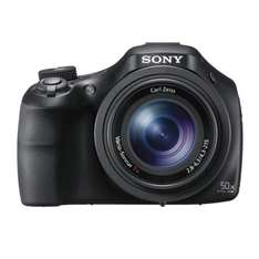 Sony DSCHX400V Compact Digital Camera with Wi-Fi and NFC - Black (20.4MP, 50x optical zoom) from Amazon for £187.00 with sony offering cashback of £40.00