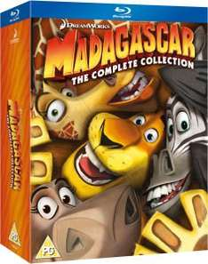 Madagascar 1-3 blu-ray box set £13.49 from Zavvi.