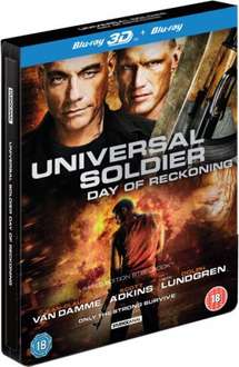 Universal Soldier: Day of Reckoning - 3D & 2D Steelbook Edition Blu-ray £3.59 with code at Zavvi