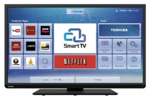 ** Toshiba 40L3451DB 40 Inch Smart TV  - £189 @ TESCO Direct **