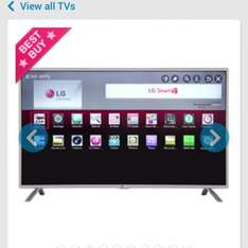 LG 47LB630V 47 Inch, Full HD, Freeview HD, Smart WebOS, LED TV £429.99 @ AO