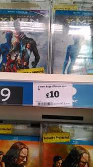 X-Men Days of Future Past Blu-ray with Digital HD and Ultra-violet copy £10 IN-STORE at Sainsbury's