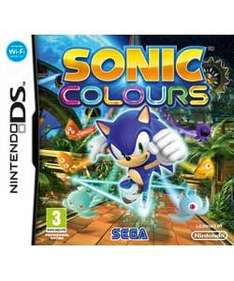Sonic Colours DS £9.00 Delivered @ GAME (+ 4% possible Quidco)