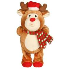Whistling swaying reindeer @ b&q £5.00 from £15 free c+c