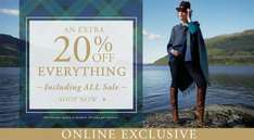 An Extra 20% OFF Everything Including Sale Items @ Viyella