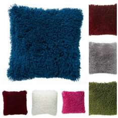 Faux mongolian 43cm cushion - was £6 now £4! Wilkinsons / wilko