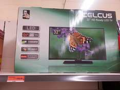 """Celcus DLED32167HD 32"""" HD Ready LED TV 720p TV down from £199.99 to £129.99 at Sainsburys"""