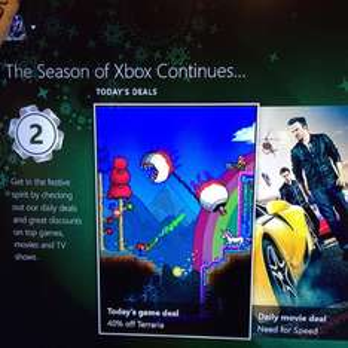 Terraria Xbox one £9.11 on countdown to 2015 deals on Xbox dashboard