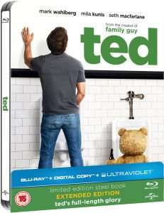 Ted STEELBOOK BLU-RAY £4.53 at Zavvi using DVDBR10 (10% off) FREE DELIVERY