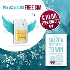 People's Operator free PAYG SIM with £10 credit!