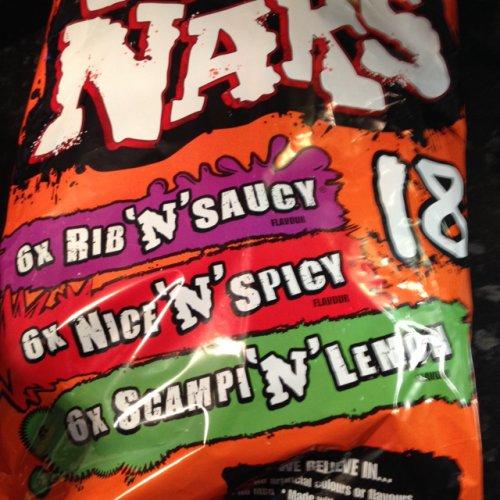 Nik naks variety 18 pack only £1 @ Farmfoods