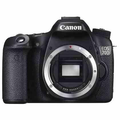 canon 70D DSLR camera body - £589 inc. cashback and voucher code @ Park camera