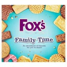 Fox's Family Time Carton 735G  £1.25 @ Tesco (Princes Risborough)